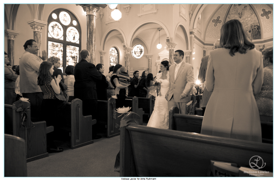 St Joseph Church, Shelbyville, Indiana, catholic wedding
