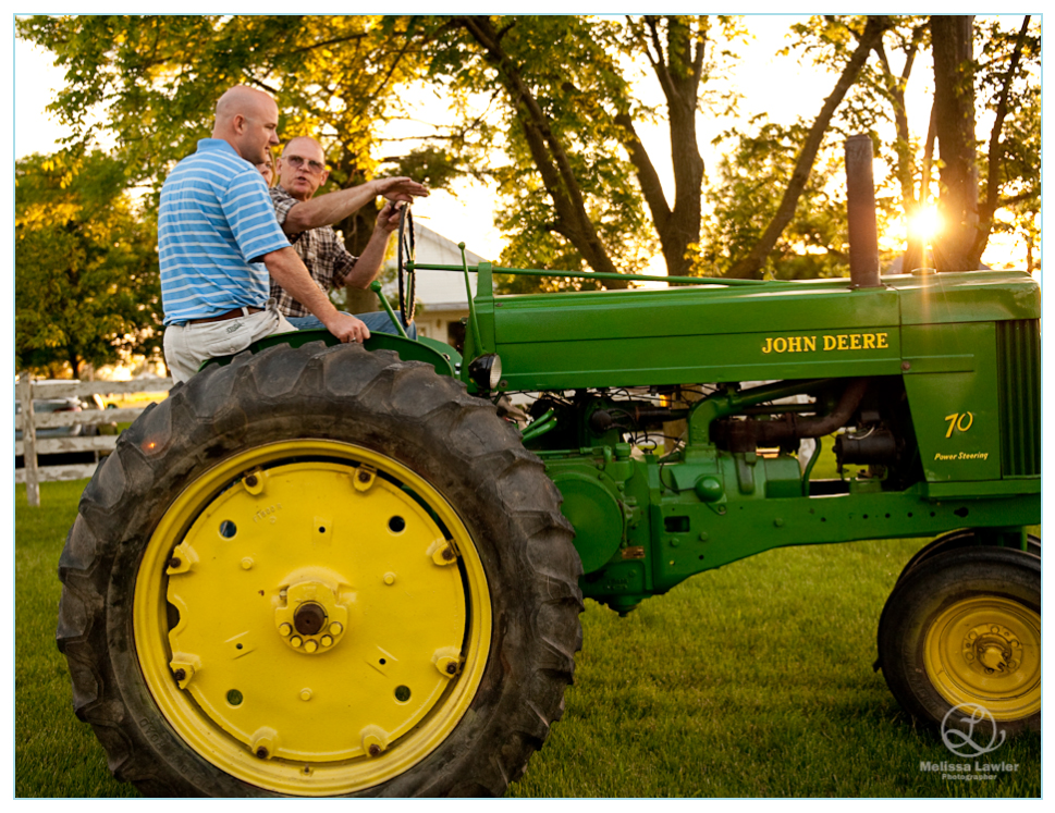 John Deere Tractor ride, indiana wedding photographer, wedding photojournalist, indiana wedding photojournalist