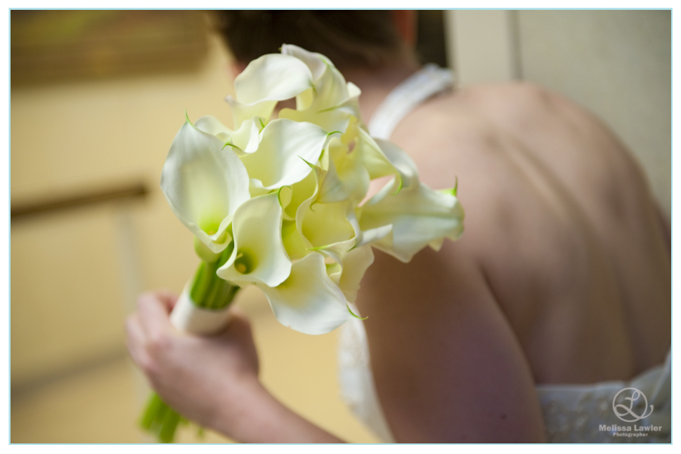 indiana university wedding brides flowers