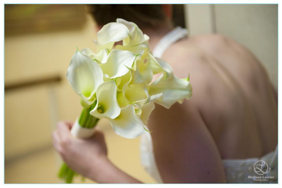 indiana university wedding brides flowers